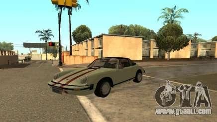 Porsche 911 Targa 1974 for GTA San Andreas