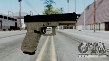 Glock 18 Sand Frame for GTA San Andreas