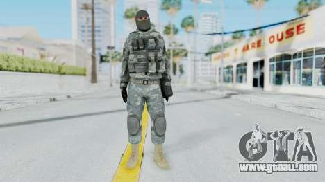 Acu Soldier 3 for GTA San Andreas second screenshot