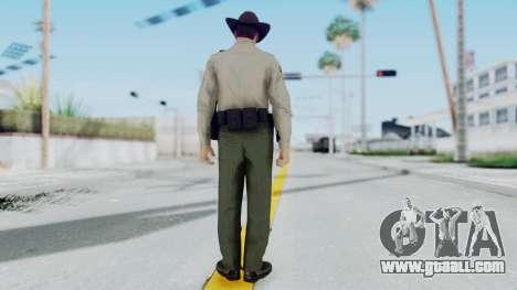 GTA 5 Sheriff for GTA San Andreas third screenshot