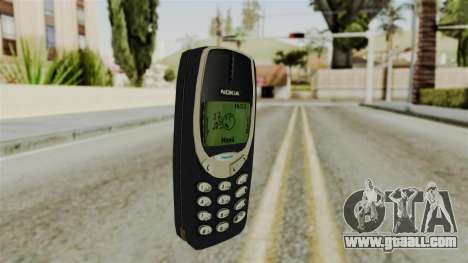 Nokia 3310 for GTA San Andreas second screenshot