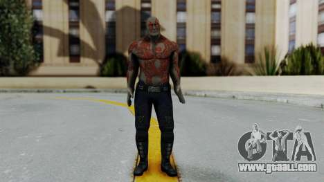 Marvel Heroes - Drax for GTA San Andreas second screenshot
