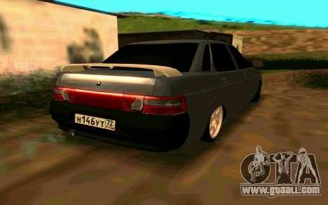 VAZ 2110 v.2.0 for GTA San Andreas left view