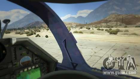 GTA 5 Dassault Mirage 2000-5 fifth screenshot