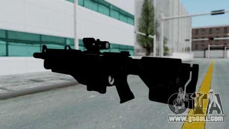 Kusanagi ACR-10 Assault Rifle for GTA San Andreas third screenshot