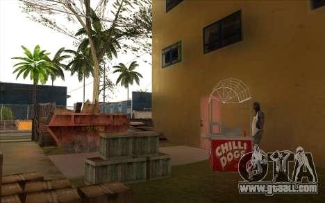 Repair work on Grove Street for GTA San Andreas eleventh screenshot