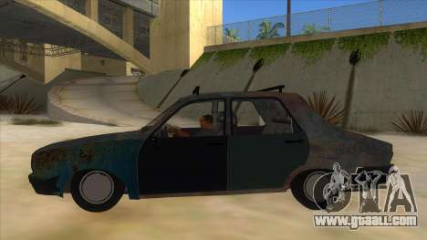 Dacia 1310 Rusty v2 for GTA San Andreas left view