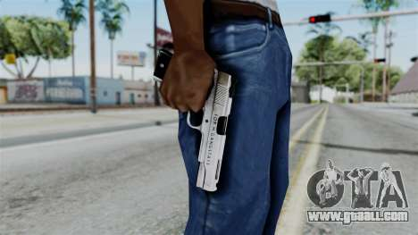 For-h Gangsta13 Pistol for GTA San Andreas third screenshot