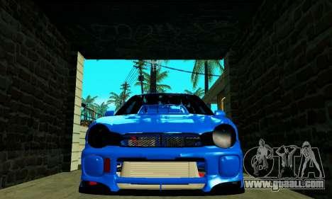 Subaru Impreza WRX STi Wagon 2003 for GTA San Andreas right view
