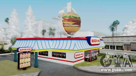 Burger King Texture for GTA San Andreas second screenshot