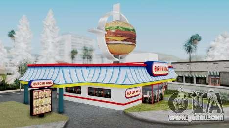 Burger King Texture for GTA San Andreas second screenshot