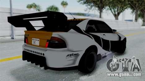 GTA 5 Karin Sultan RS Drift Big Spoiler PJ for GTA San Andreas side view