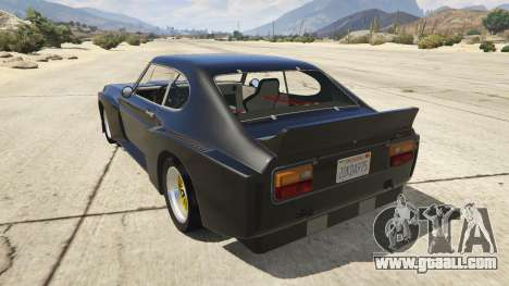 GTA 5 1974 Ford Capri RS rear left side view