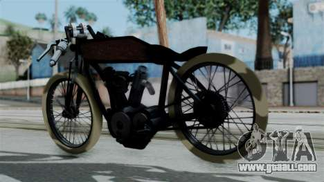 Indian 1907 for GTA San Andreas left view