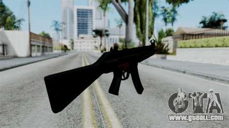 No More Room in Hell - MP5 for GTA San Andreas third screenshot