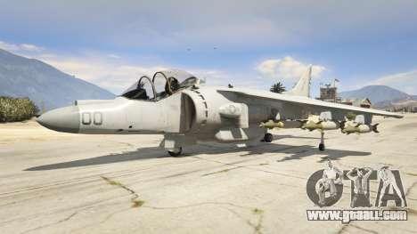 GTA 5 McDonnell Douglas AV-8B Harrier II