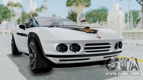 GTA 5 Coil Brawler Coupe for GTA San Andreas left view