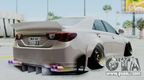 Toyota Mark X Slammed for GTA San Andreas left view