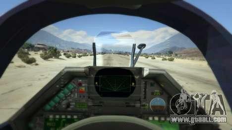 GTA 5 Dassault Mirage 2000-5 fourth screenshot