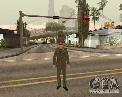 Russian army Skin Pack for GTA San Andreas tenth screenshot