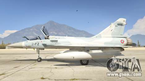 GTA 5 Dassault Mirage 2000-5 second screenshot