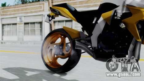 Honda CB1000R v2 for GTA San Andreas right view