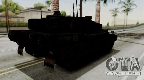 Point Blank Black Panther Rusty for GTA San Andreas right view