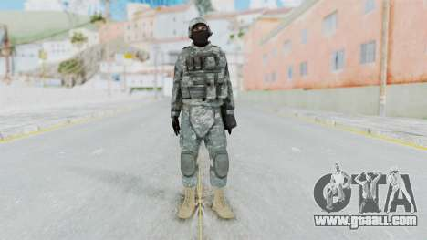 Acu Soldier 4 for GTA San Andreas second screenshot