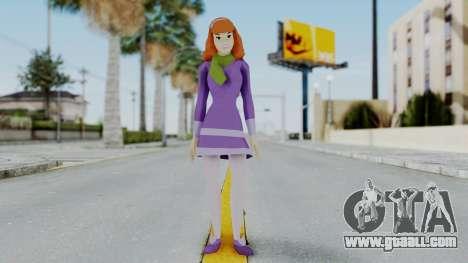 Scooby Doo Daphne for GTA San Andreas second screenshot