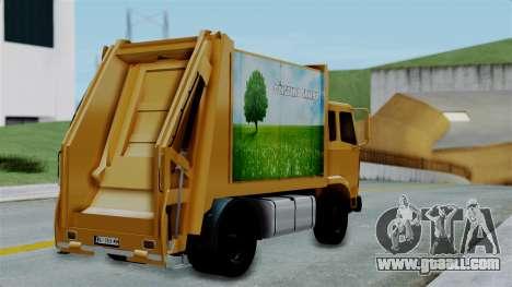 FAP Đubretarski Truck for GTA San Andreas left view