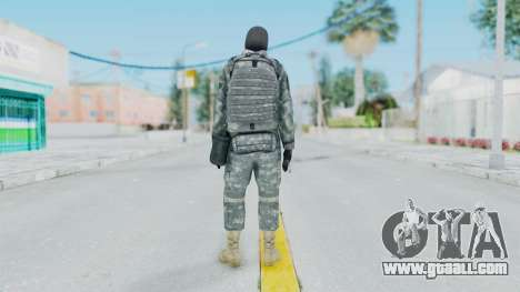 Acu Soldier 3 for GTA San Andreas third screenshot