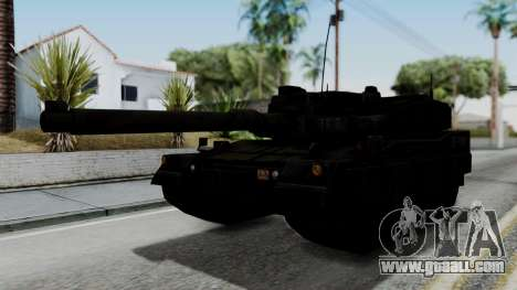 Point Blank Black Panther Woodland IVF for GTA San Andreas back left view
