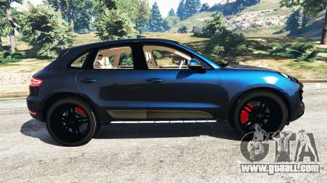Porsche Macan Turbo 2015 for GTA 5