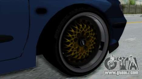 Renault Megane Stance for GTA San Andreas back left view