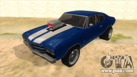 1970 Chevrolet Chevelle SS Drag for GTA San Andreas