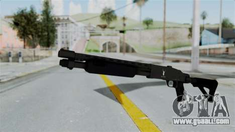 GTA 5 Pump Shotgun for GTA San Andreas second screenshot