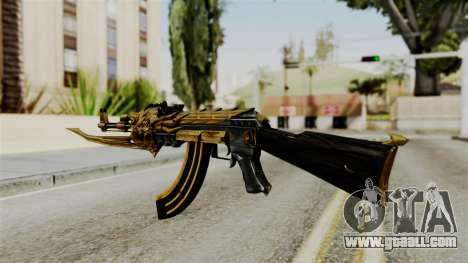 Dragon AK-47 for GTA San Andreas second screenshot