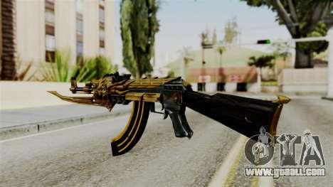 Dragon AK-47 for GTA San Andreas second screenshot