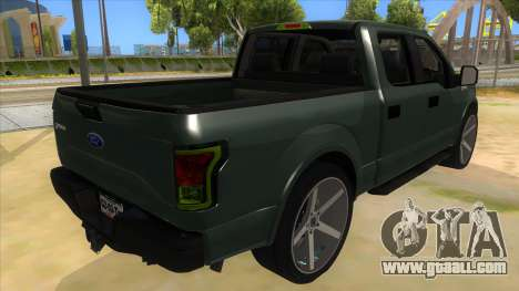 Ford F-150 2015 for GTA San Andreas right view