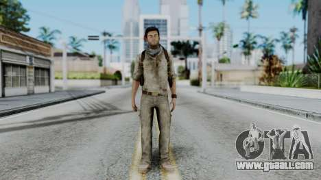 Uncharted 3 - Nathan Drake Desert Outfit for GTA San Andreas second screenshot