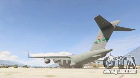 GTA 5 C-17A Globemaster III v.1.1 third screenshot