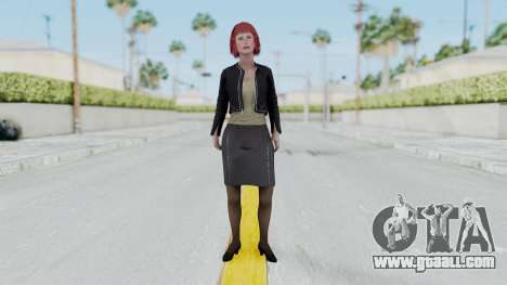 Assassins Creed 4 Melaine Lemay for GTA San Andreas second screenshot