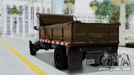 GTA 5 Tipper Second Generation for GTA San Andreas left view