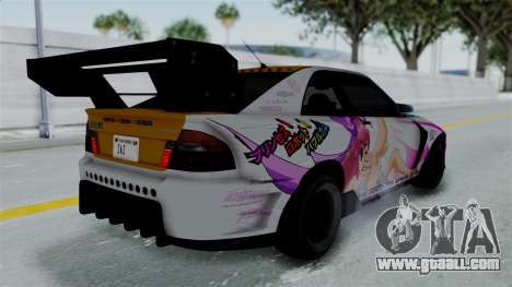 GTA 5 Karin Sultan RS Drift Big Spoiler PJ for GTA San Andreas