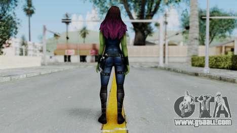 Marvel Future Fight - Gamora for GTA San Andreas third screenshot