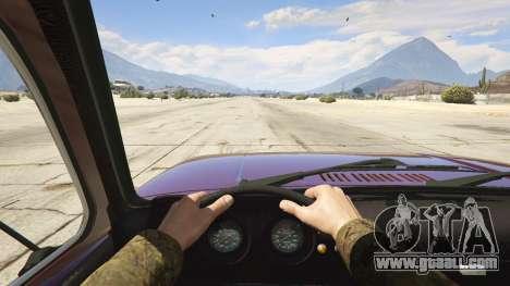 GTA 5 VAZ-2121 Lada Niva back view