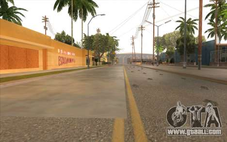 Repair work on Grove Street for GTA San Andreas twelth screenshot