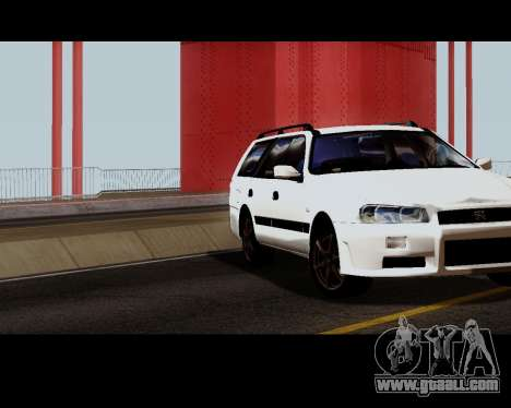 Nissan Stagea Tunable for GTA San Andreas