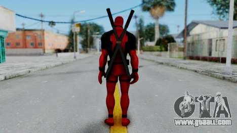 Marvel Heroes - Deadpool for GTA San Andreas third screenshot