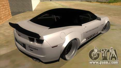 2012 Chevrolet Camaro ZL1 Liberty Walk for GTA San Andreas right view